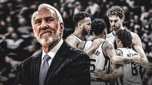 Gregg Popovich says it's hard to play defense in today's NBA