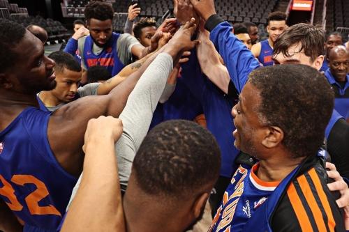 Knicks practice notes: Bernard King returns to his court