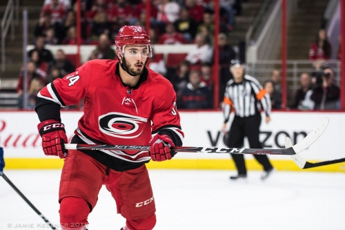 Canes Recall Bishop and Di Giuseppe, Assign Roy to Checkers