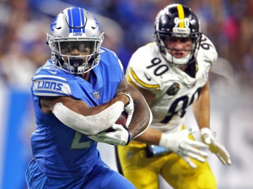 Former Lions RB Ameer Abdullah is joining the Vikings