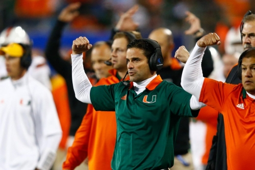 Miami Hurricanes DC Manny Diaz nominated for Broyles Award as Nation's Top Assistant