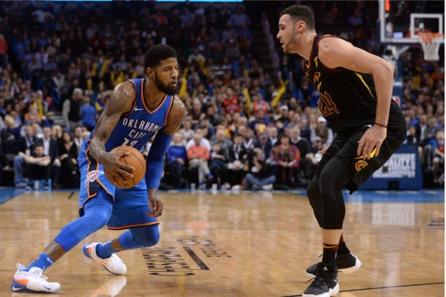 Preview: OKC, sans Westbrook, takes on the Cavs