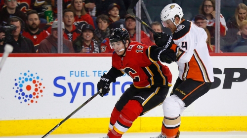 NHL Live Tracker: Flames vs. Ducks