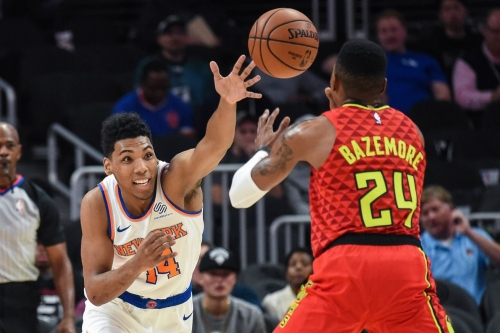 Knicks 112, Hawks 107: Scenes from a young team winning like young teams win