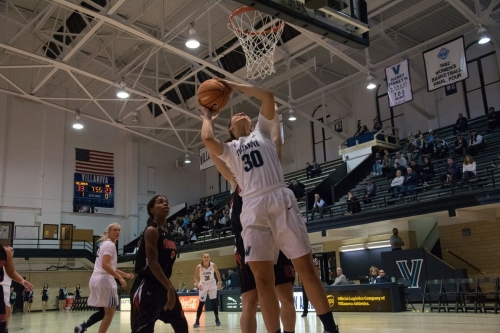 Strong second half play propels Lady 'Cats to 59-41 victory over Hartford