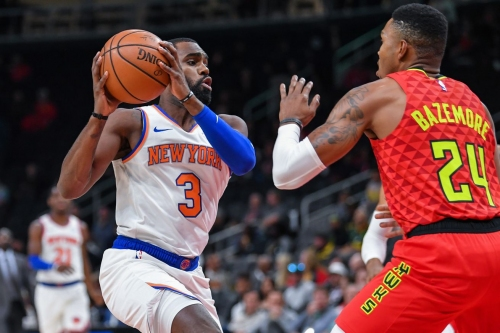 Knicks 112, Hawks 107 'This game is making me hate basketball'