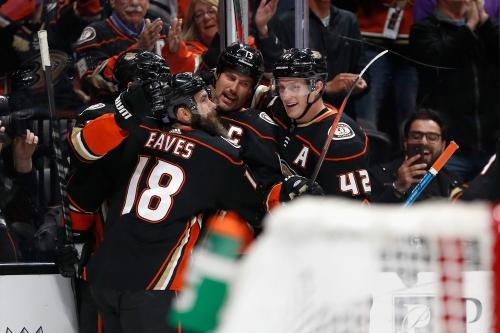 Ryan Getzlaf, Rickard Rakell team up to help Ducks get past Flames