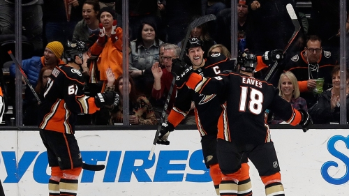Flames begin California road trip with loss to Ducks