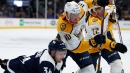 Colton Sissons scores hat trick as Predators beat Avalanche