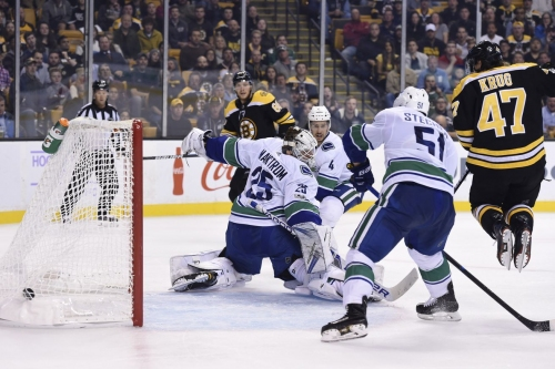 Complete Coverage: Canucks at Bruins, 7PM