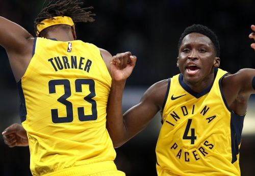 Oladipo offers impassioned defense of Myles Turner after tough night