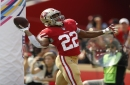 How can 49ers rushing attack help Mullens encore?