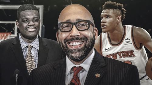 Knicks coach David Fizdale wants to build bond between Kevin Knox, Bernard King