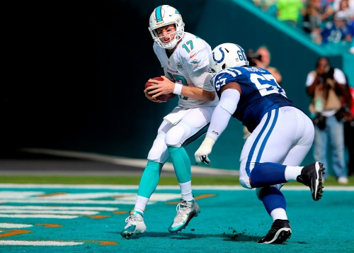 Colts will host Dolphins at 4:25 p.m. on Nov. 25