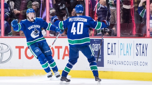 Burke: Pettersson changes everything for Canucks
