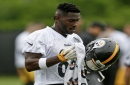 Steelers WR Antonio Brown cited for driving over 100 mph