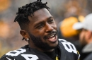 Antonio Brown cited for reckless driving and allegedly exceeding 100 MPH when rushing to a team meeting on Thursday