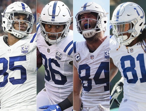 Insider: Colts might have NFL's best group of tight ends