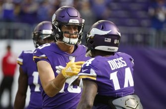Thielen, Diggs have helped Vikings stay on track