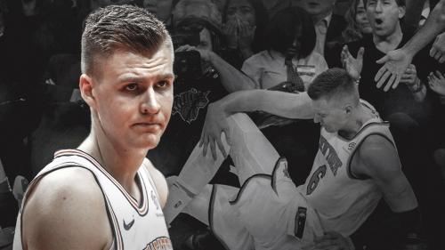 Knicks' Kristaps Porzingis progressing slowly in return from torn ACL