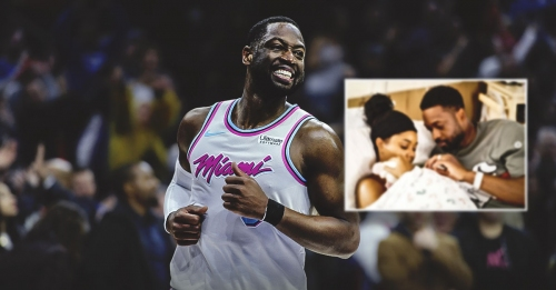 Heat's Dwyane Wade, Gabrielle Union announce birth of baby girl