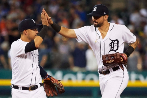 Nicholas Castellanos voted 2018 Detroit Tiger of the Year