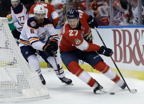 Oilers fall to Panthers for 3rd consecutive defeat