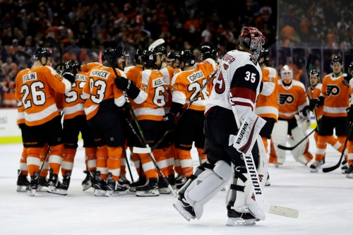 Coyotes start off road trip with OT loss to Flyers