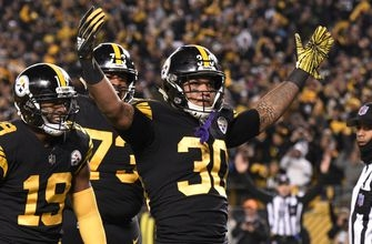 Roethlisberger throws for 5 TDs, Steelers rip Panthers 52-21
