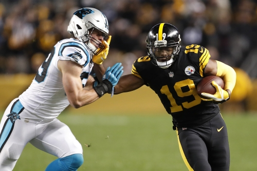 Ben Roethlisberger throws for 5 TDs, Steelers rip Panthers