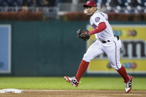 Nationals don't think they need to add a second baseman, do you?