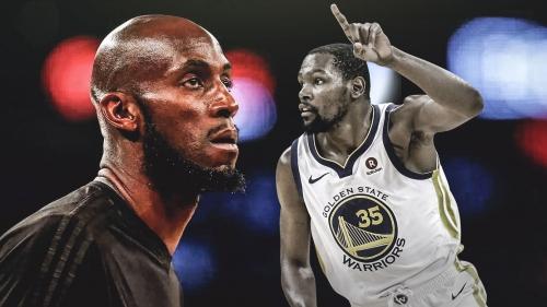 Kevin Garnett tells Warriors' Kevin Durant he's the 'OG' now