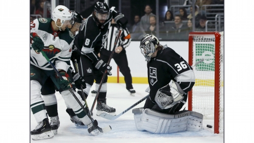 Kings get an early goal, but Wild deny them a 3rd straight win