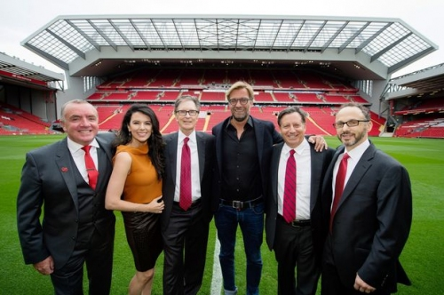 Liverpool FC 'up for sale'