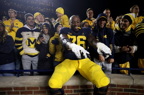 How did Michigan revive its O-line? Start with the bad basketball player