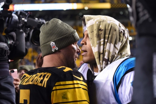 Steelers players take to social media to talk about their win over the Panthers
