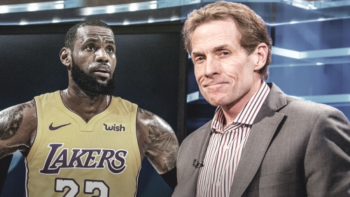 Skip Bayless blasts LeBron James, Rockets in single tweet