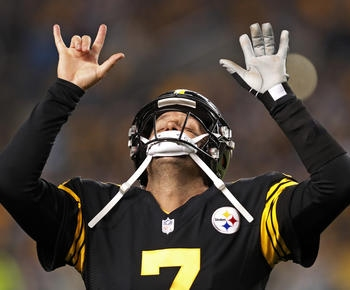 Ben Roethlisberger throws for 5 TDs, Steelers rip Panthers 52-21