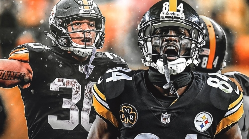 Steelers news: James Conner and Antonio Brown first teammates with 10+ TDs thru first 9 games since 1962