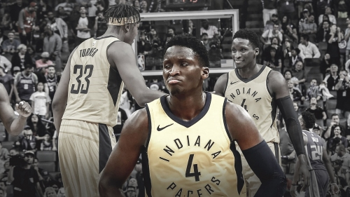 Victor Oladipo defends Myles Turner against critics of his quiet play