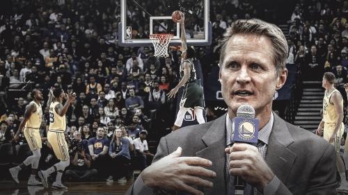 Warriors coach Steve Kerr says complacency led to downfall vs. Bucks