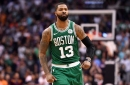 Marcus Morris and Kyrie Irving team up for the tie and 8 other takeaways from Celtics/Suns