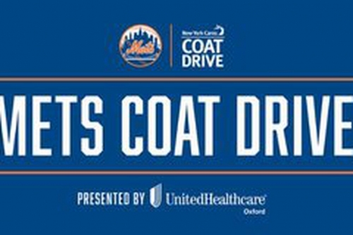 Mets to host Holiday Coat Drive on November 14