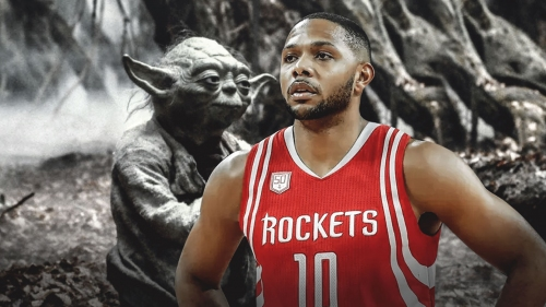 Rockets' Eric Gordon explains his 'Yoda-like' demeanor