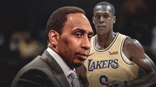 Stephen A. Smith says Rajon Rondo disrespected him inside Lakers locker room