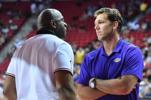Lakers News: Magic Johnson Remains Vague On What Could Lead To Luke Walton Getting Fired