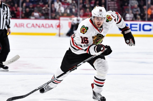 Marcus Kruger out with leg injury vs. Flyers