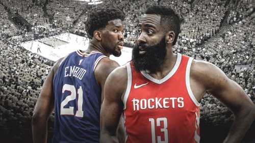 Joel Embiid considers himself the James Harden of big men