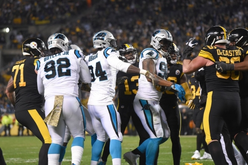 Ben Roethlisberger will pick up the tab for any fines to his offensive line after Week 10
