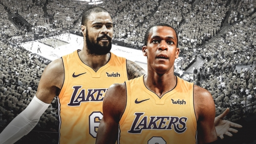 Rajon Rondo says Tyson Chandler is already the best screen-setter on the Lakers